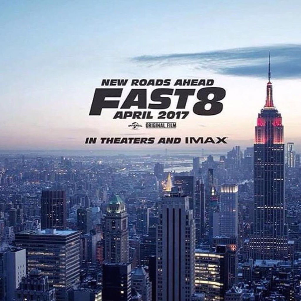 映画「ワイルド・スピード」、シリーズ8作目の予告ポスターが公開!